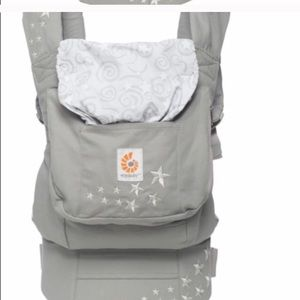 Ergo baby carrier with baby insert